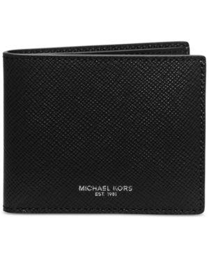 Michael Michael Kors Men's Harrison Slim Billfold - Black
