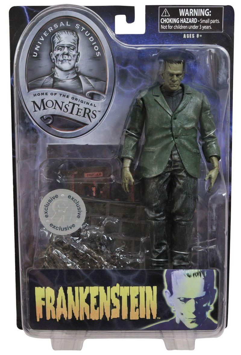 Frankenstein action figure frankenstein retro horror
