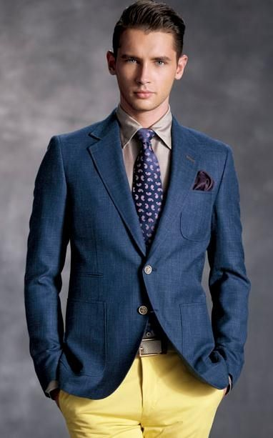 Blue jacket #men #jacket #clothing #outfit #fashion | Women ...