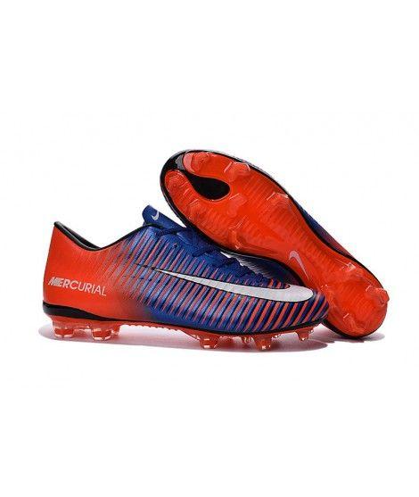 Nike Mercurial Vapor Xi Fg Fussballschuhe Orange Blau Weiss