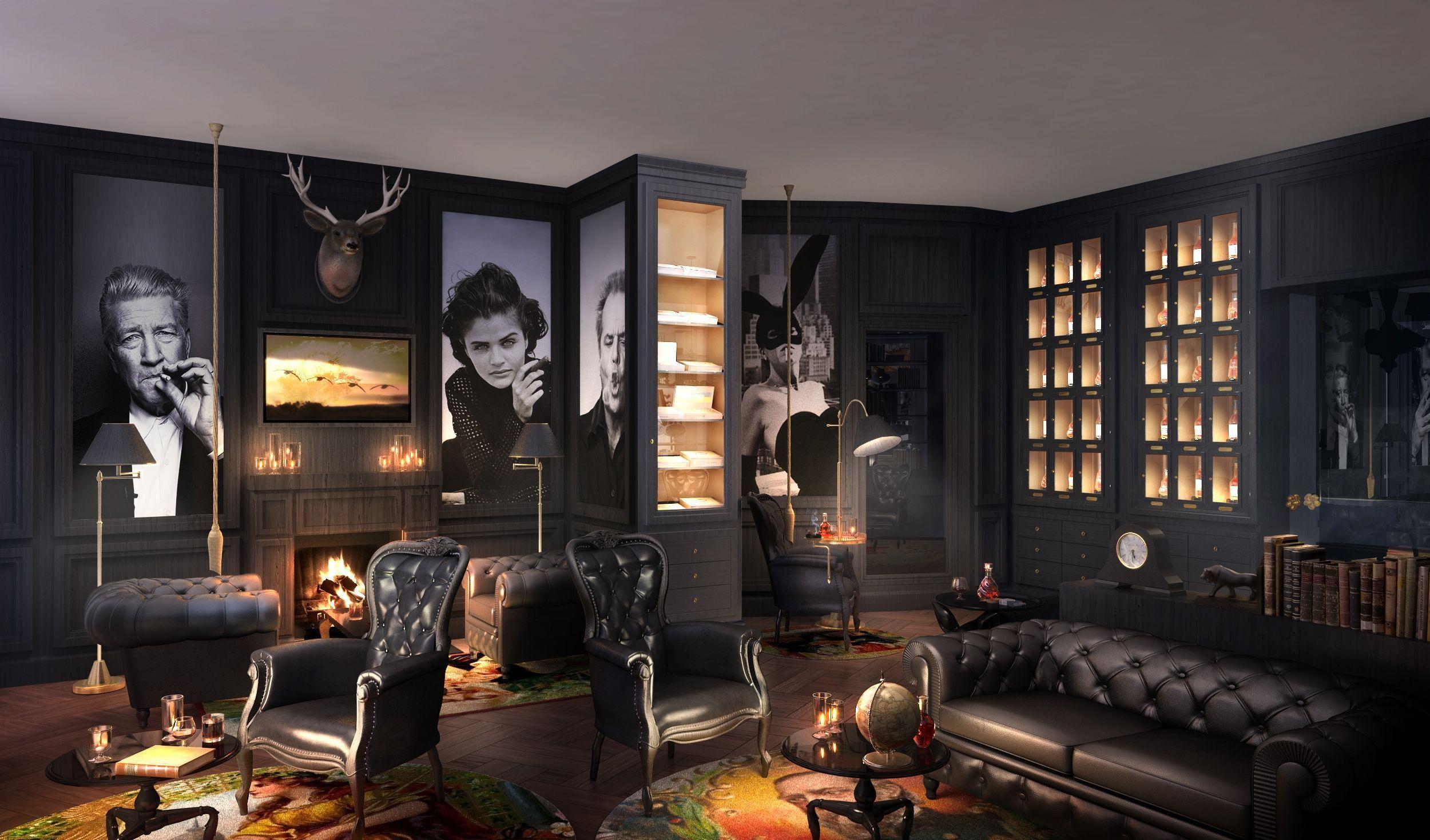 Download Catalogue Cigar Lounge Decor Lounge Interiors Cigar
