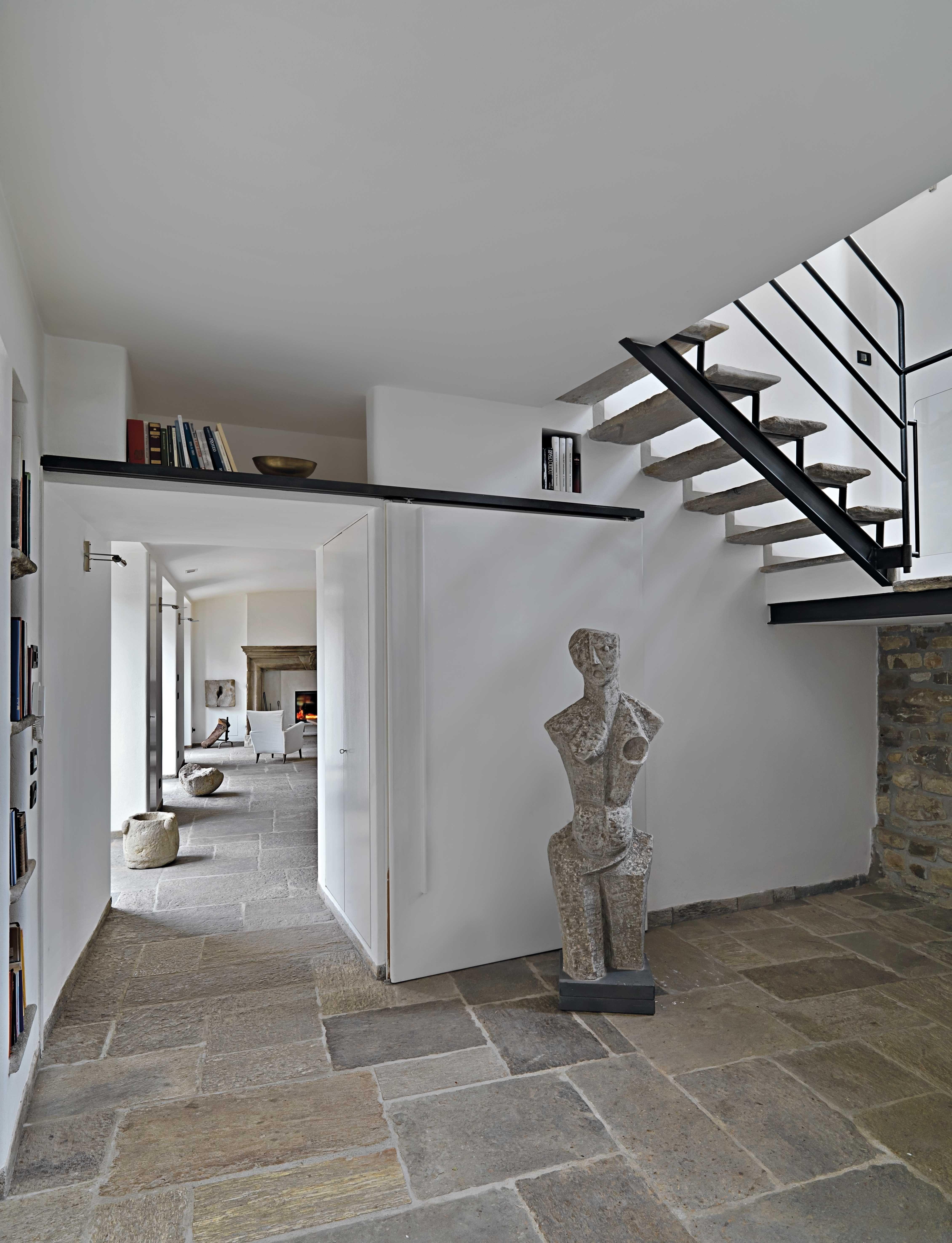 Idee Per Pavimenti Taverna pavimentazione in pietra di recupero per interni. #pietra