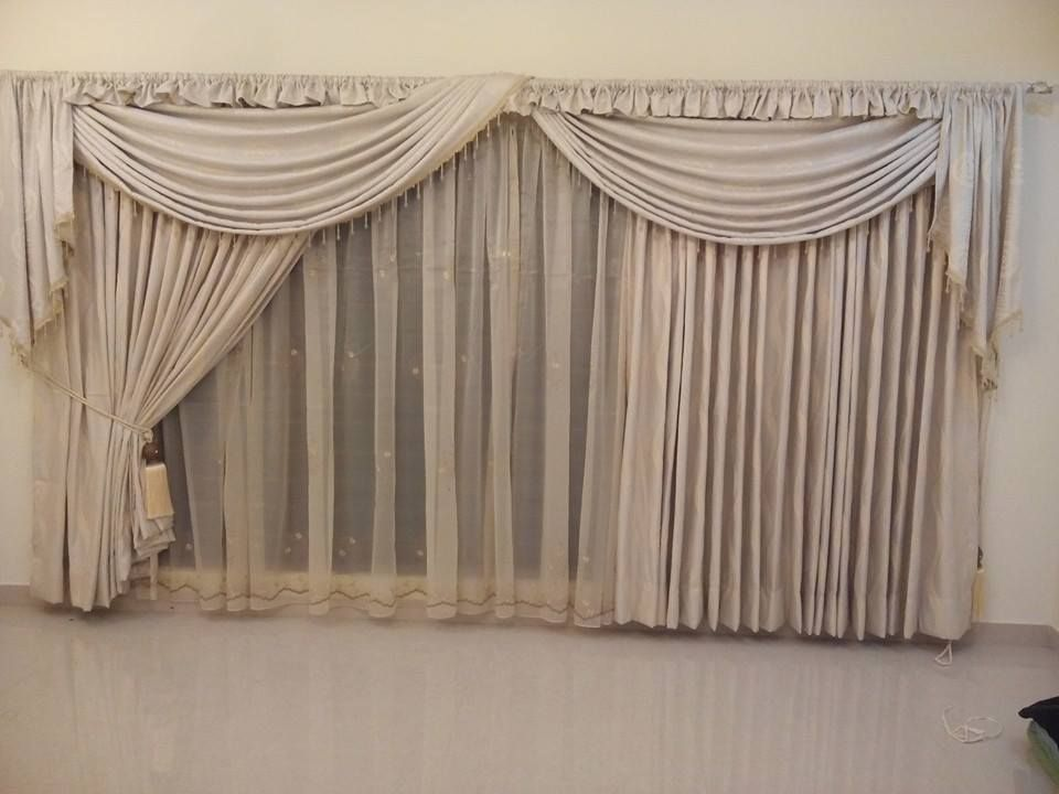 DRAPERY design by officecarpets.ae installer