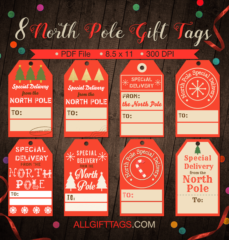 Printable north pole gift tags get them in pdf format at http printable north pole gift tags get them in pdf format at http negle Choice Image