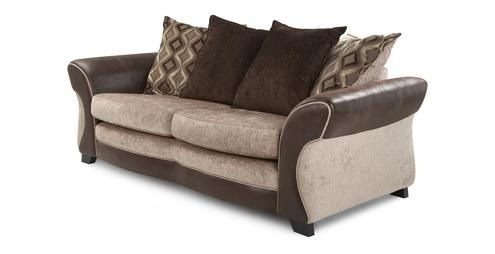 3 Seater Pillow Back Sofa Karma Dfs Sitting Room