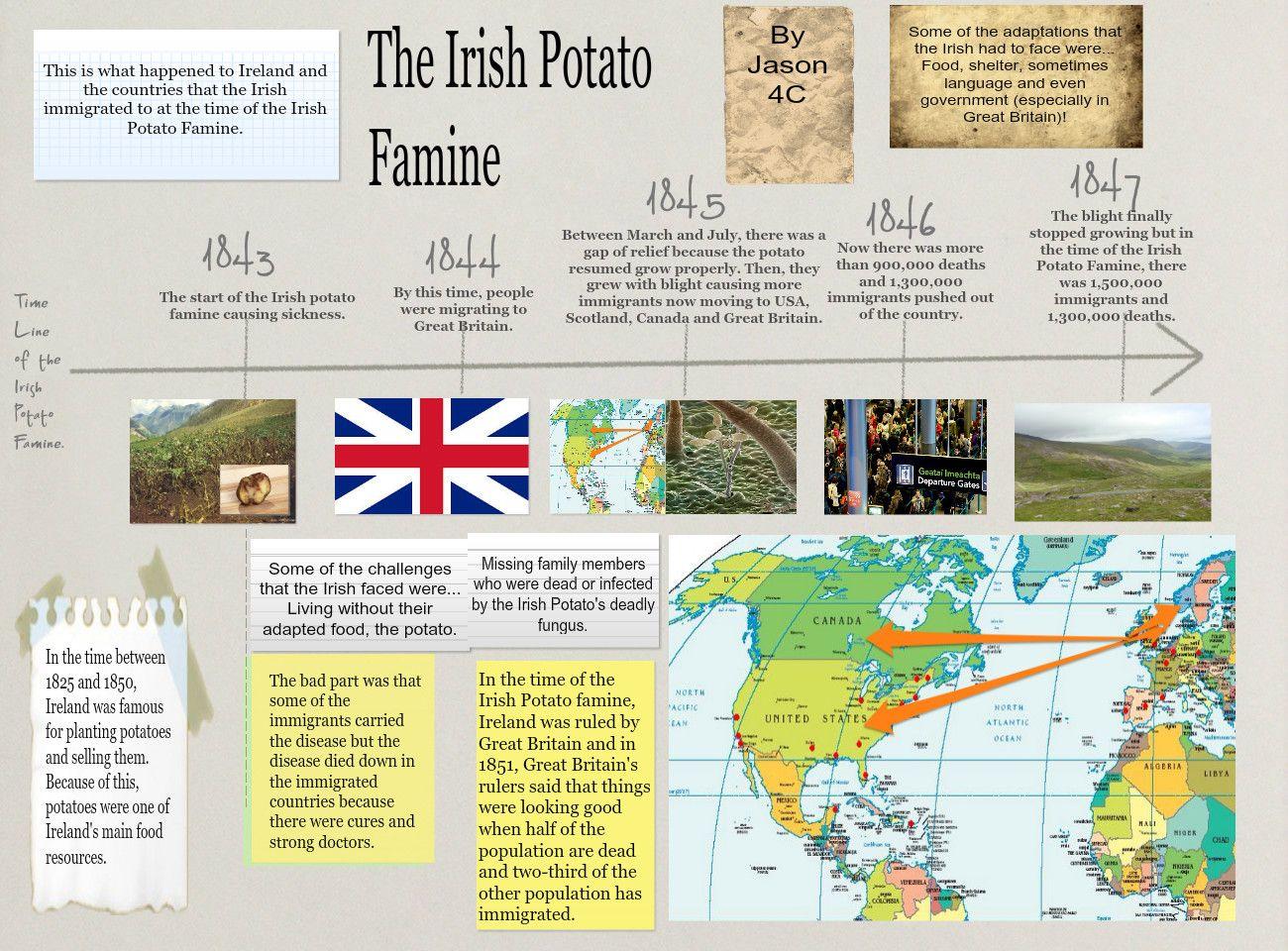 Image Result For Potato Famine Timeline Poster Irish Potatoes Potato Famine Irish Famine