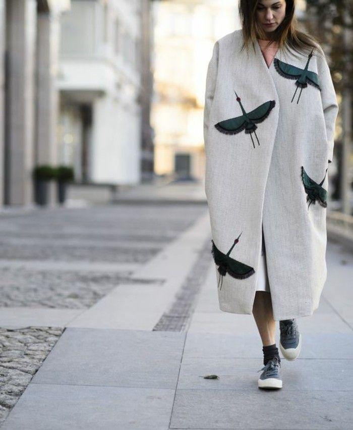 Womit lässt sich ein grauer Mantel kombinieren? – 70 Outfits