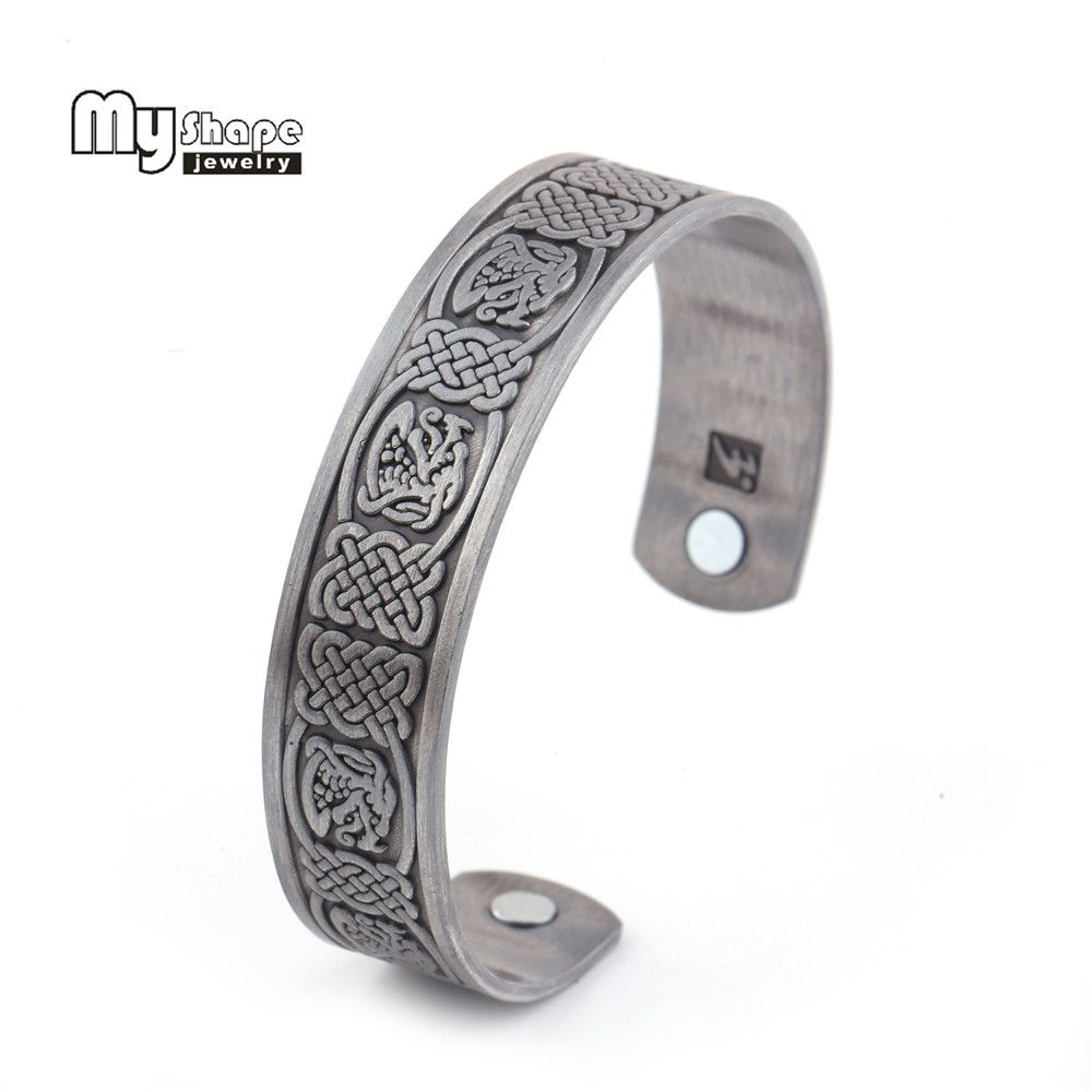 My shape bracelet magnetic stone therapy health personalized jewelry