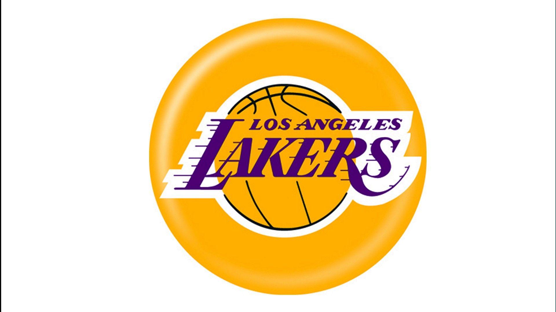 Nba Basketball Los Angeles Lakers: Laker's Logo For Basketball Birthday