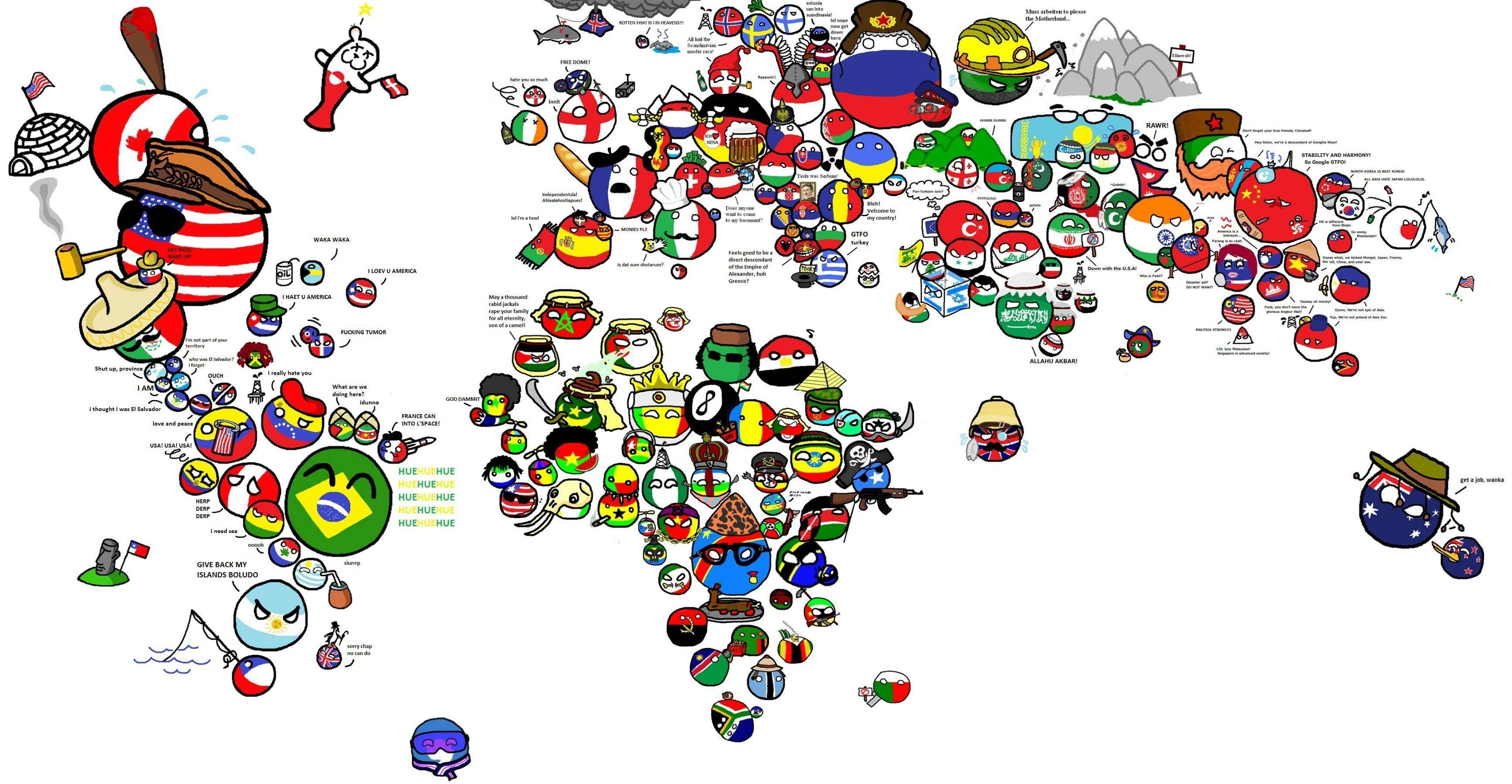 Polandball World Map Map logo, World map, Map