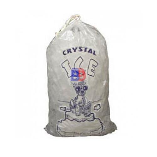 12 X 21 10 Lbs Printed Drawstring Ice Bags Ice Bag Printed Drawstring Printed Drawstring Bags