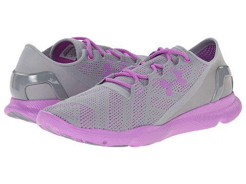 Under Armour UA Speedform™ Apollo Vent Steel/Exotic Bloom/Exotic Bloom -  6pm. Running Shoes LacingWomen ...