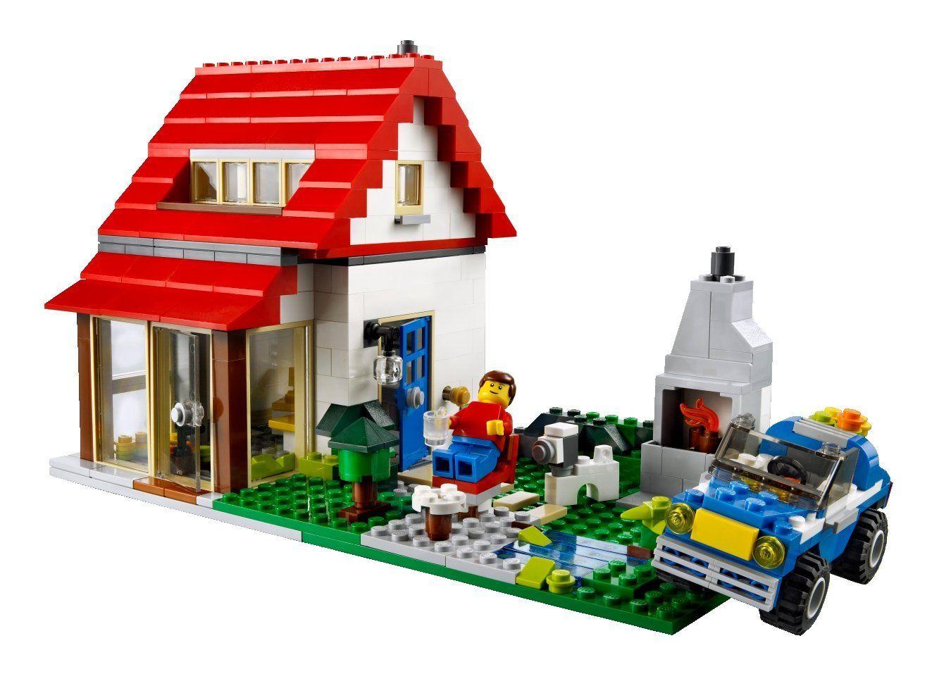 amazon com lego creator 5771 hillside house toys u0026 games i like