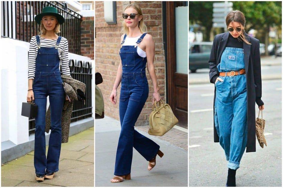 760f34833 Como usar macacão e jardineira jeans em qualquer estação  veja looks e  inspire-se