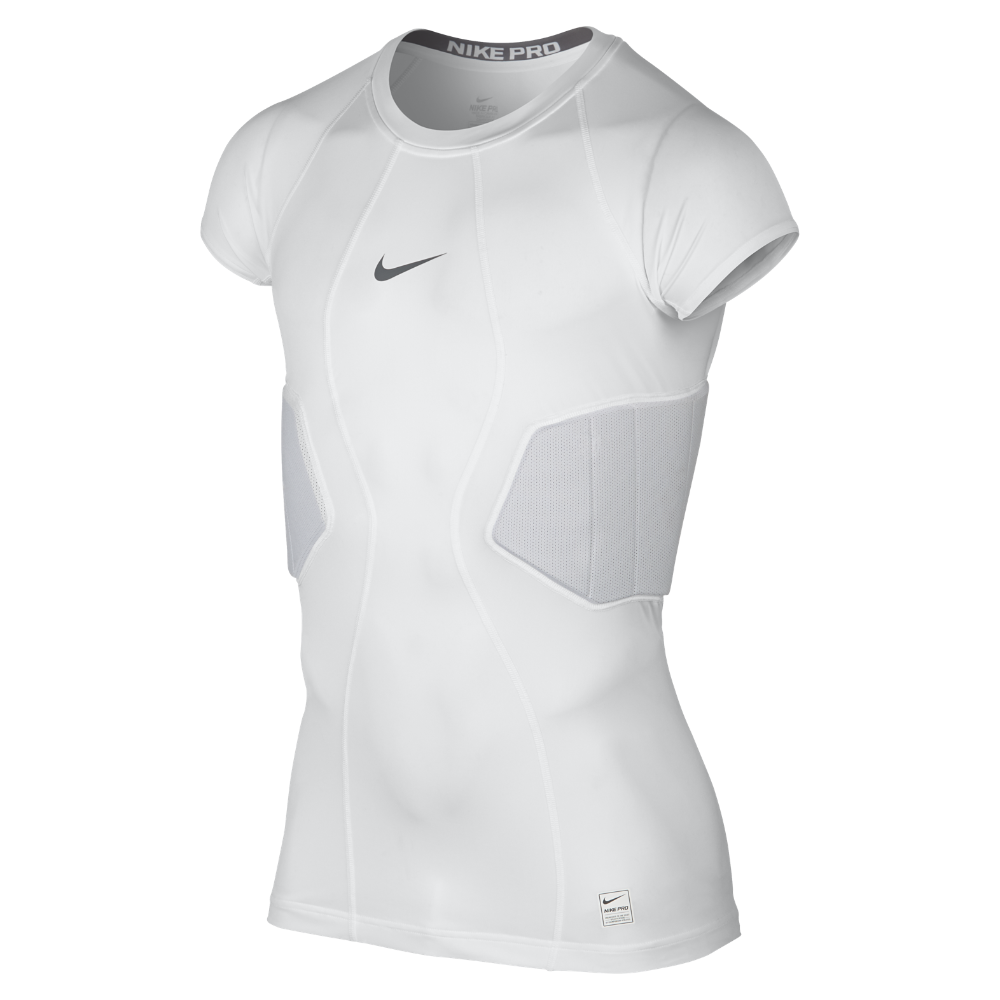 38eebbcc Nike Pro Hyperstrong Fitted Men's Football Top Size Large (White) -  Clearance Sale