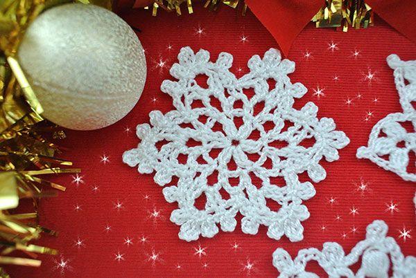 5 Free Crochet Snowflake Patterns Beautiful Crochet Stuff