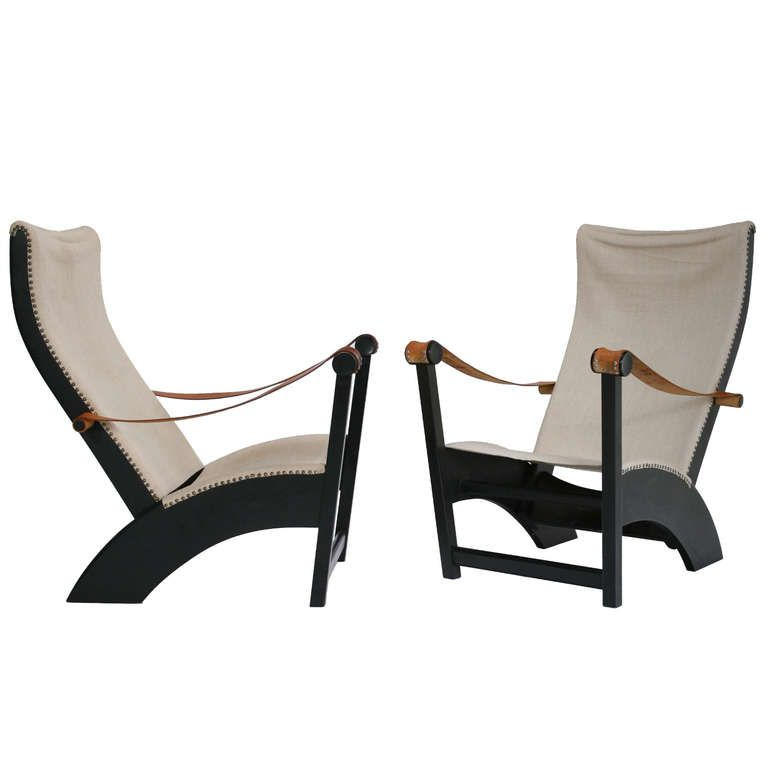 A Pair Of Copenhagen Chairs By Mogens Voltelen | From a unique collection of antique and modern lounge chairs at http://www.1stdibs.com/furniture/seating/lounge-chairs/