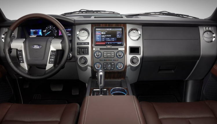 2017 Ford Expedition Dashboard