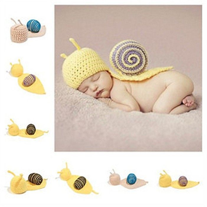 Mermaid baby knit costume photography crochet beanie hat cap newborn prop in clothing baby toddler clothing baby accessories