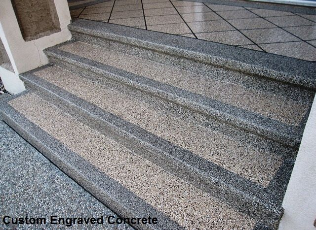 non slip concrete stairs Google Search For the Home