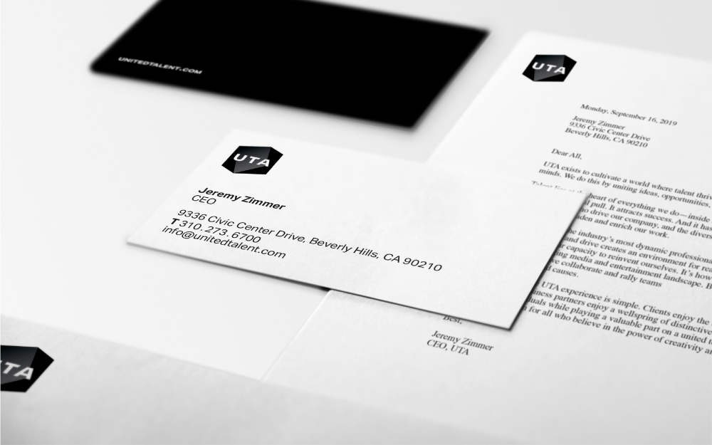 Brand New New Logo And Identity For Uta Done In House Identity Logo Identity Logo Evolution