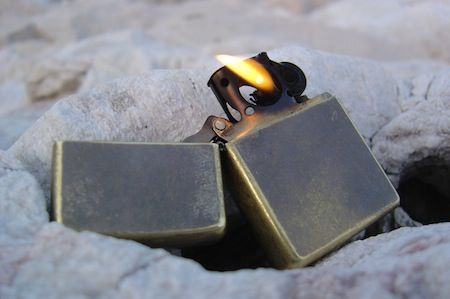 Add a Zippo to your survival kit!