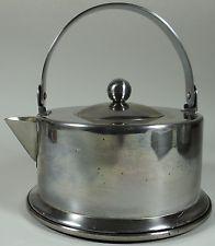 Vintage Morgan Ware Tea Kettle Pot Danish Modern 2 5 Qt