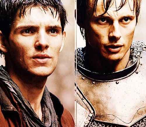 bbc merlin and arthur