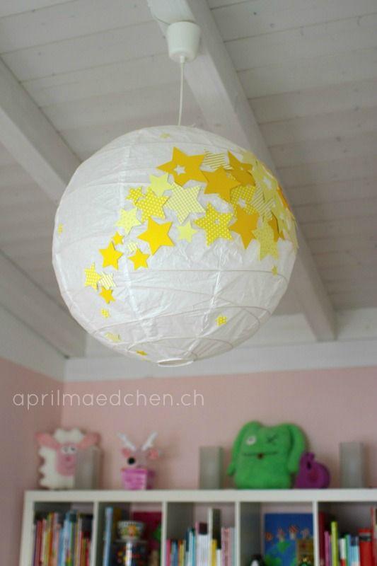 STERNENLAMPE ausbaufähig | Lampen | Lampe kinderzimmer junge, Lampe ...