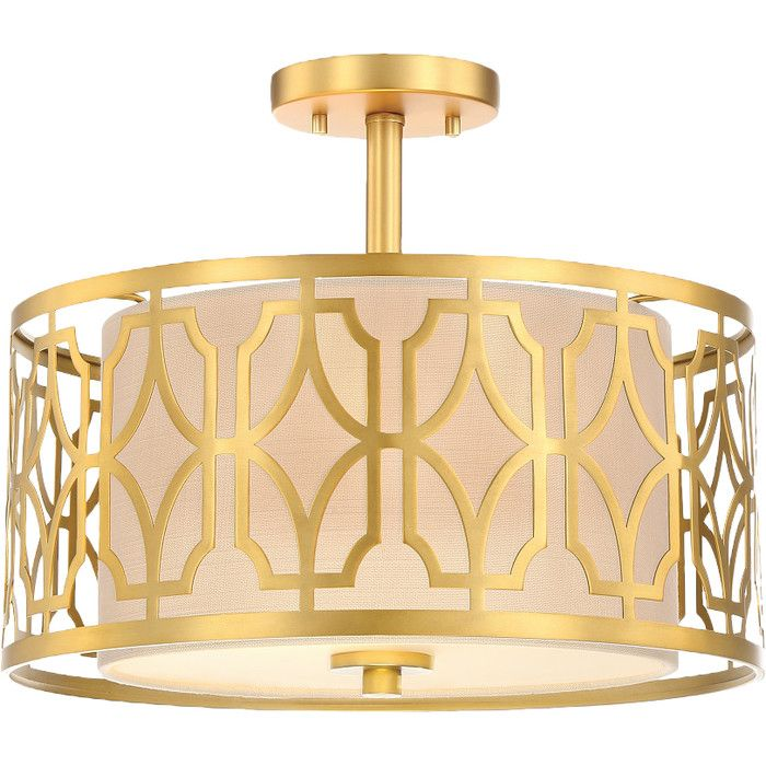 Youll love the candace 4 light semi flush mount at joss