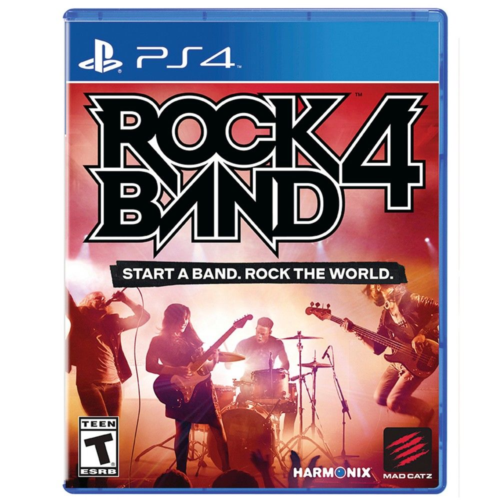 Rock Band 4 Software Playstation 4 Rock Band 4 Rock Bands Video Games Xbox
