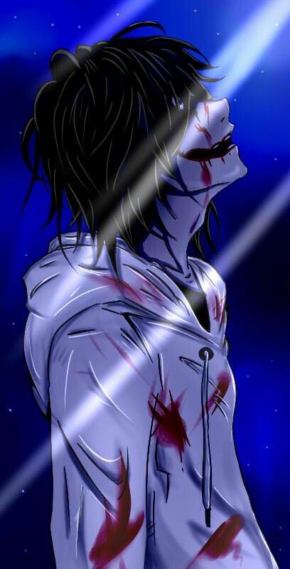 Pin On My Sweet Love Creepypasta Cool jeff killer anime wallpaper