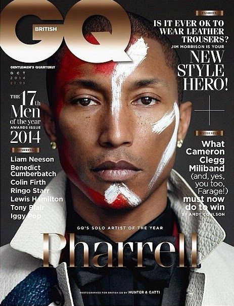 COVER  Glossy Newsstand: GQ UK OCTOBER 2014