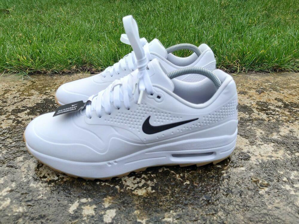 Nike Air Max 1 G Golf White Gum Size 8 Uk Eu 42 5 Aq0863 Waterproof New Nike Golf In 2020 Nike Air Max Nike Air Air Max 1