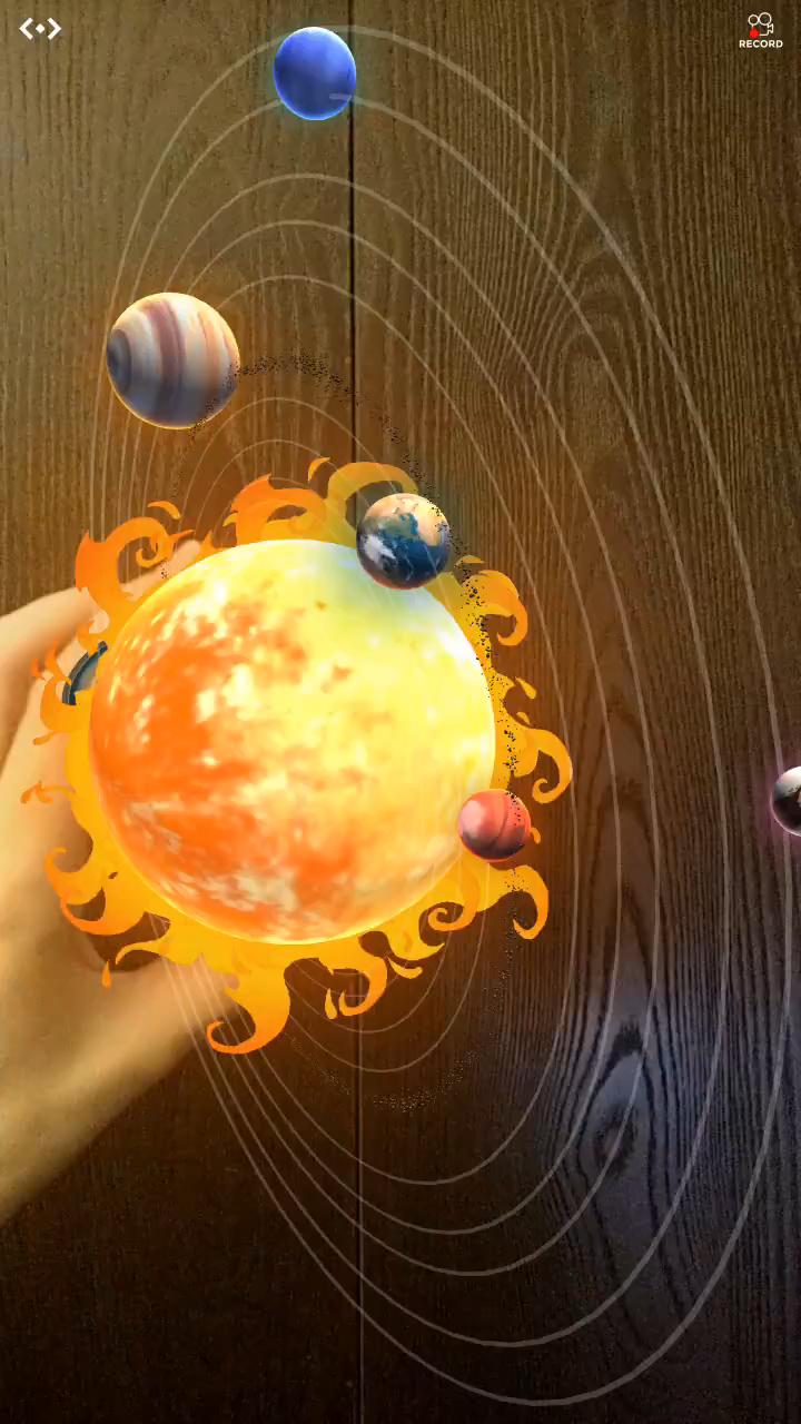 Permite que tus alumnos visualicen el sistema solar de forma interactiva con esta app de realidad aumentada.
