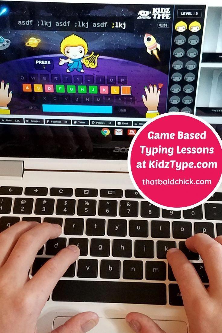 KidzType Game Based Typing Lessons typing keyboarding