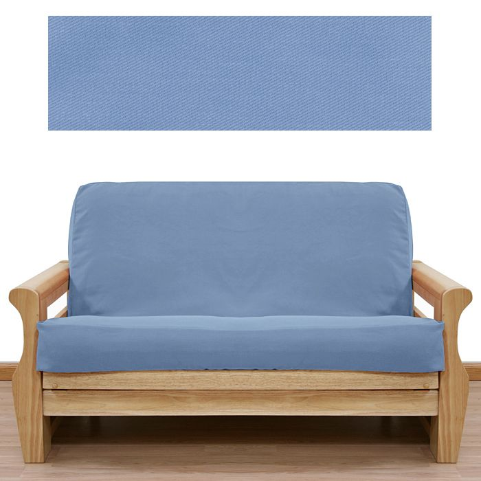 solid light blue futon cover solid light blue futon cover   bright spring colors   pinterest      rh   pinterest