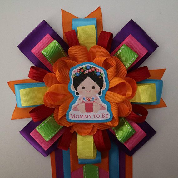 Fiesta Baby Girl Themed Mommy To Be Baby Shower Corsage Mexican
