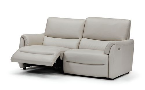 Contemporary Leather Recliner Sofa ZIWA IDP