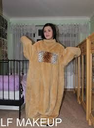 Image result for girls in realistic bear suit costume