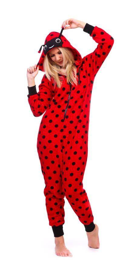 Miraculous Ladybug Girls Lady Bug Pajamas