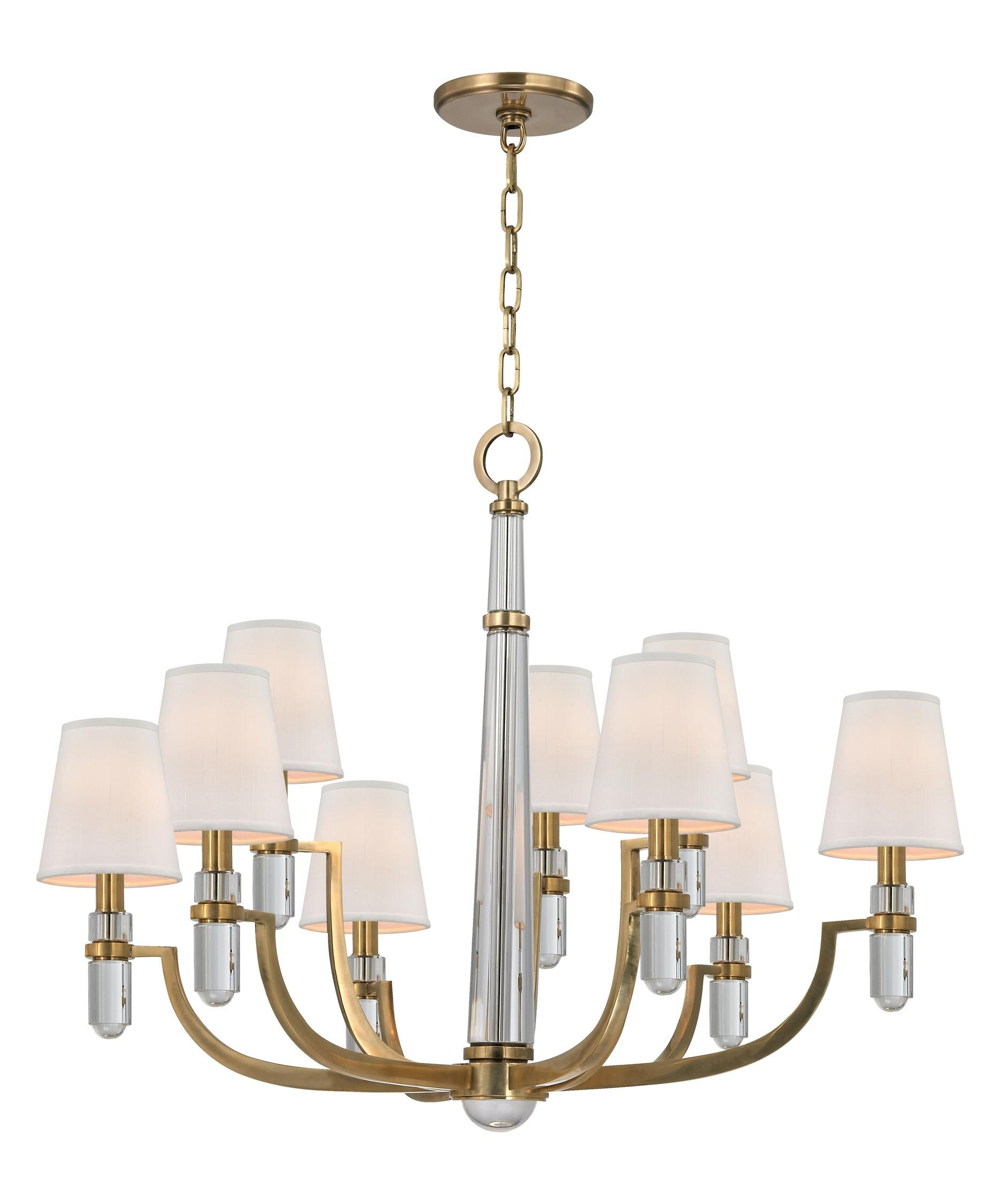 Hudson Valley 989 Dayton 33 Inch Chandelier | Capitol Lighting 1-800lighting.com