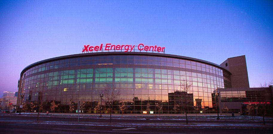 Xcel Energy Center in Saint Paul Minnesota wild hockey