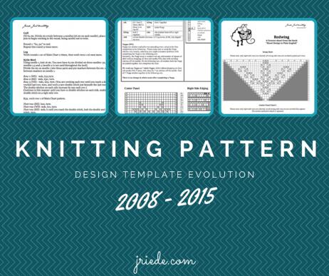 Creating Knitting Patterns, Day 12: Knitting Pattern Templates ...