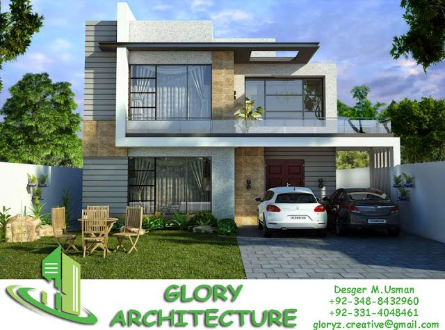 D Front Elevation Of House In Punjab : Front elevation house pakistan