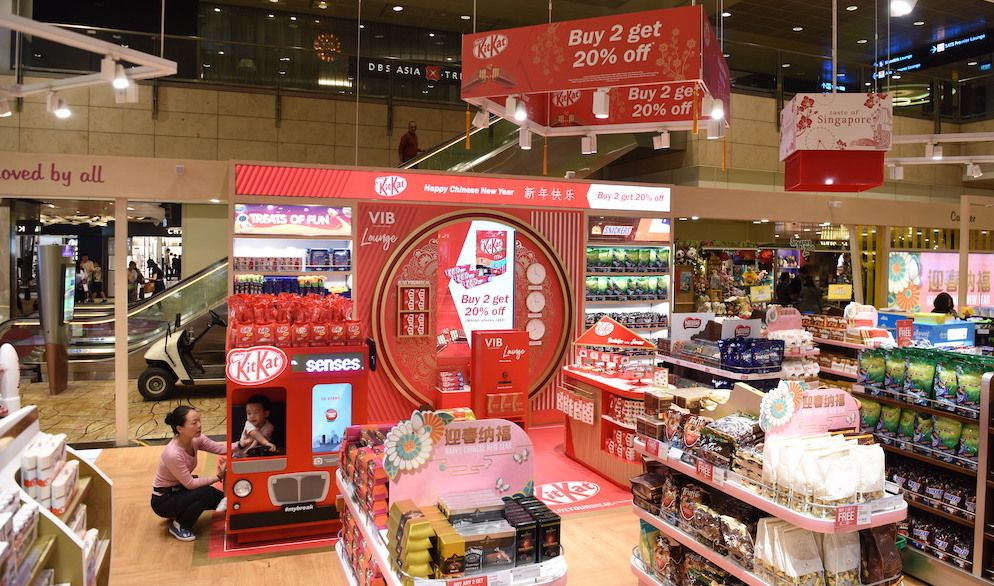 Nestle International Travel Retail Takes Confectionery Centre