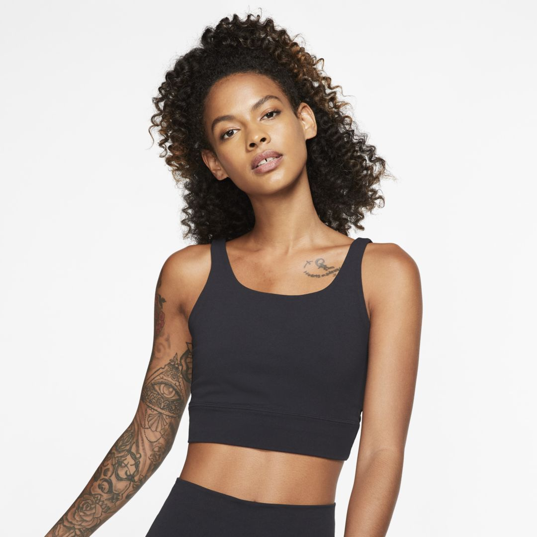 Yoga Luxe Women S Infinalon Metallic Tank In 2020 Black Nikes Women Nike