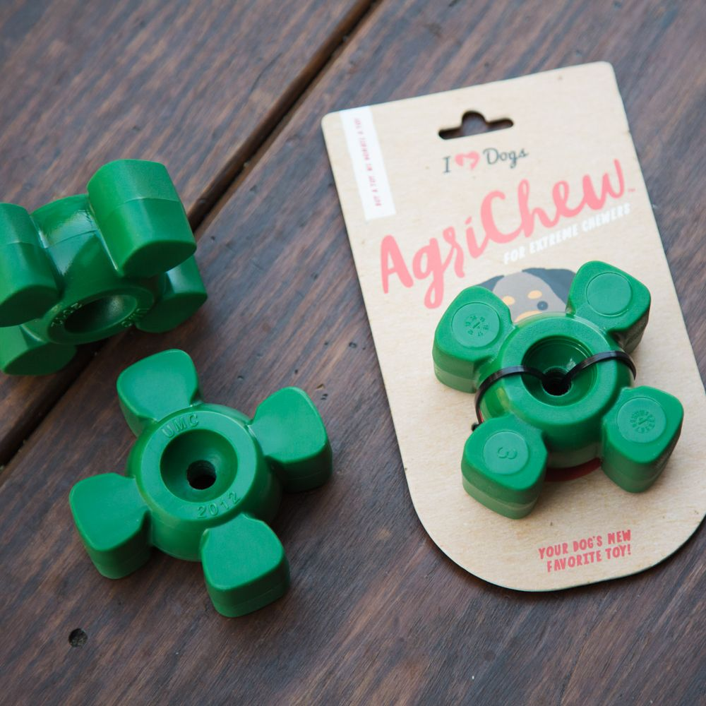 Agrichew The Accidental Industrial Strength Dog Toy For