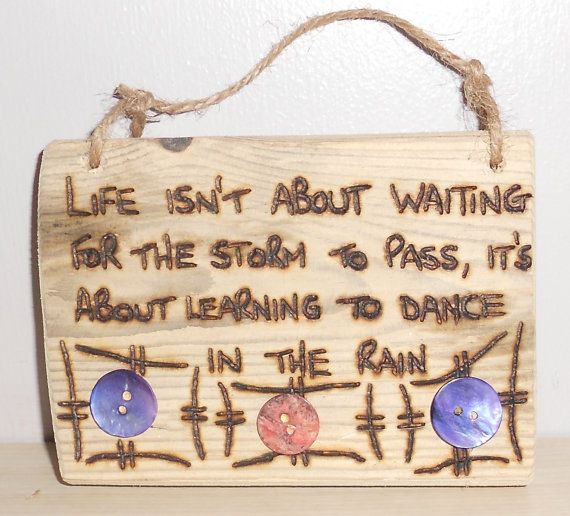 Backyard Crashers Sign Up: Driftwood Sign With Inspirational Quote By Woodandthingsuk