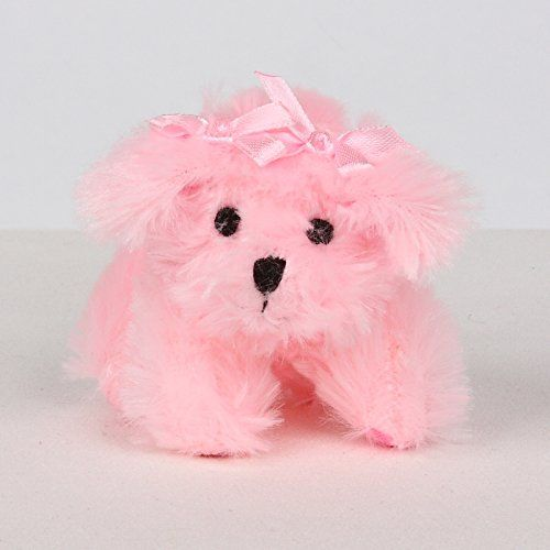 Fluff Pup Squeak Toy For Small Dogs By Susan Lanci Designs Pink